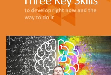 E-book, three skills to develop right now and the way to do it