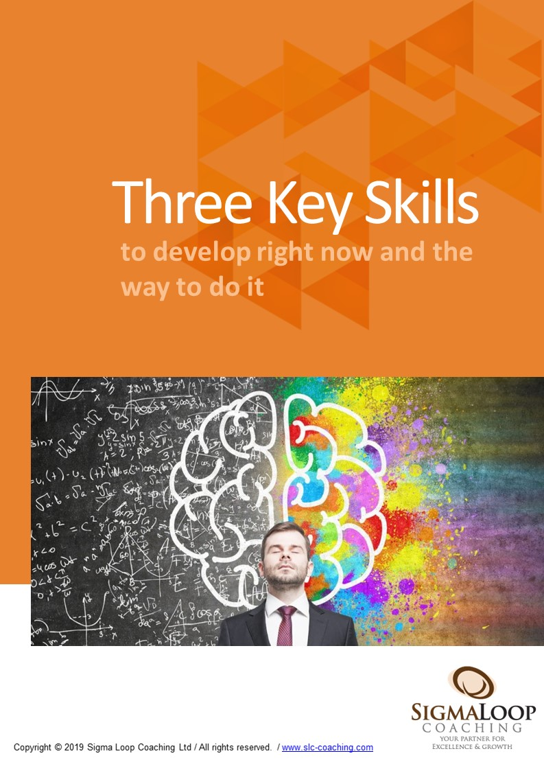 Free E-book, three skills to develop right now and the way to do it